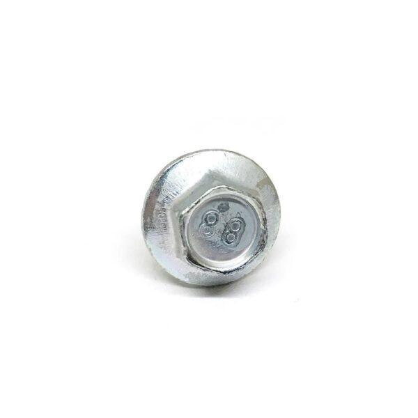 Болт с фланцем М5 х 10 х 0.8 - серый/черный