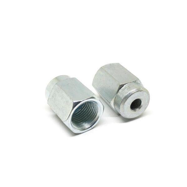 Гайка (наконечник) тормозной трубки М12 х 21.5 х 1