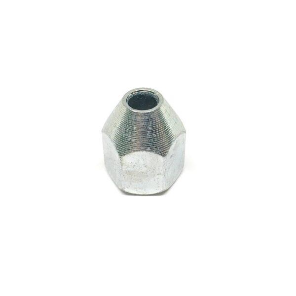 Гайка (наконечник) тормозной трубки дюймовый М3/8 х 17.5 х 24 (диаметр 3/8 дюйма, высота 17.5 мм, шаг резьбы 24 витка на 1 дюйм)