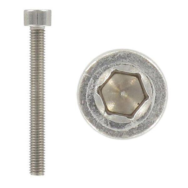 0043 1 600x600 - Винт с цилиндр. головкой M5 x 60 х 1 - 0.8