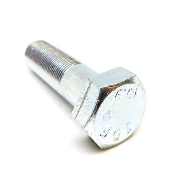 Болт с неполной резьбой M20 x 70 x 1.5 - 10.9 цинк
