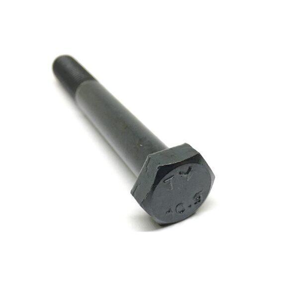 Болт с неполной резьбой M12 x 90 x 1.5 - 10.9 чёрный
