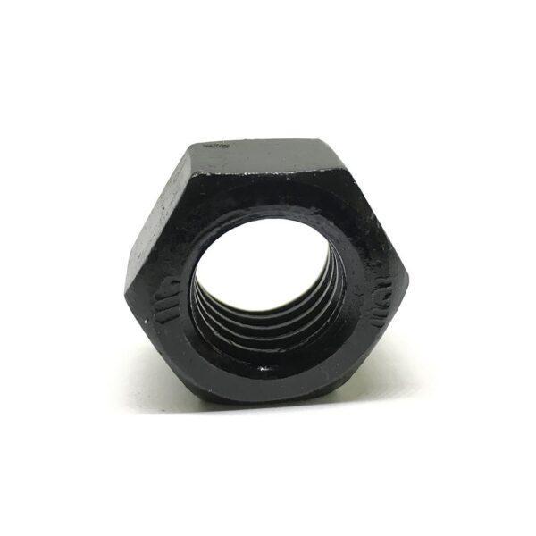 Гайка стандартная M18 х 2.5 - 10 чёрная высокопрочная