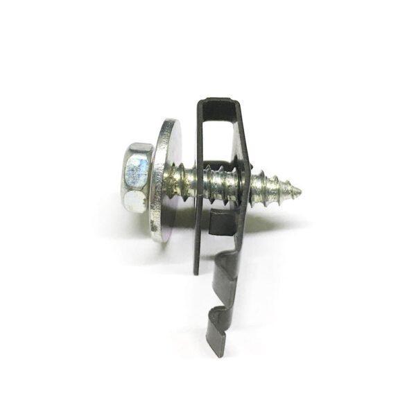комплект фиксатор + саморез металл. 4,7x16,8x15 мм - фото 2