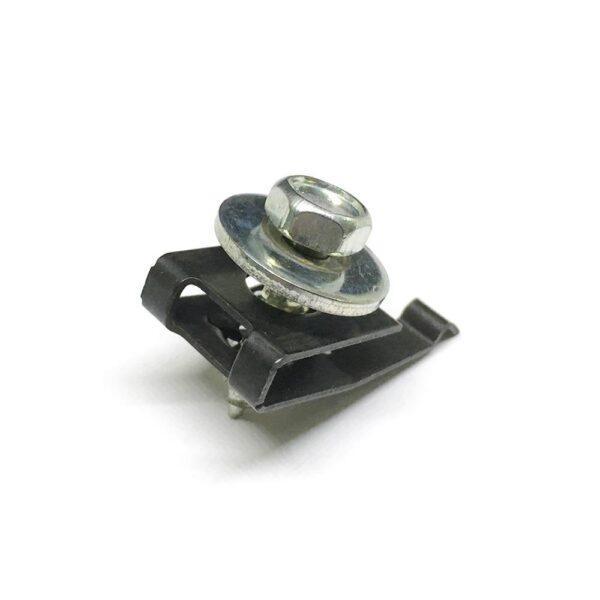 комплект фиксатор + саморез металл. 4,7x16,8x15 мм