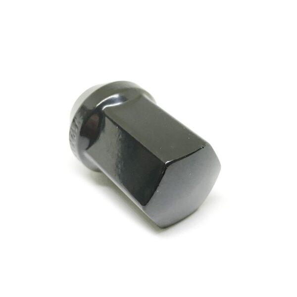 Гайка колесная конусная М12 х 1.5 кл.19 выс.35 хром чёрная