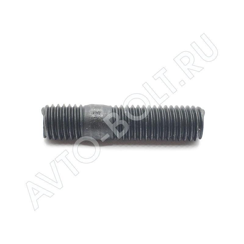 Шпилька М10 х 42 х 1.5 - 10.9 черная