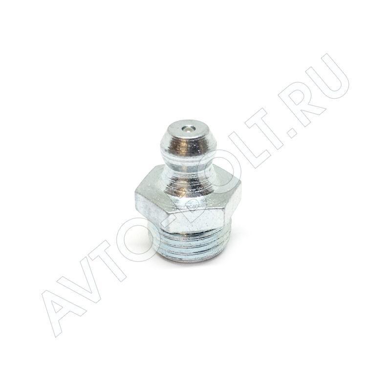 Пресс-масленка (тавотница) М10 х 1 - прямая