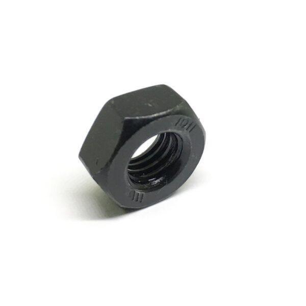 Гайка шестигранная M10 x 1.5 - 10 чёрная высокопрочная