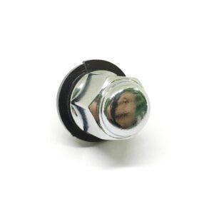 Гайка колесная сферическая М12 х 1.5 кл.19 выс.33 хром