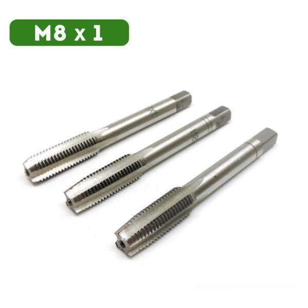 Метчик М8 x 1 (3 шт)
