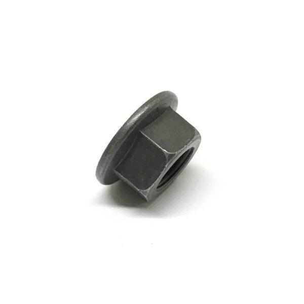 Гайка с фланцем М10 х 1 - черная