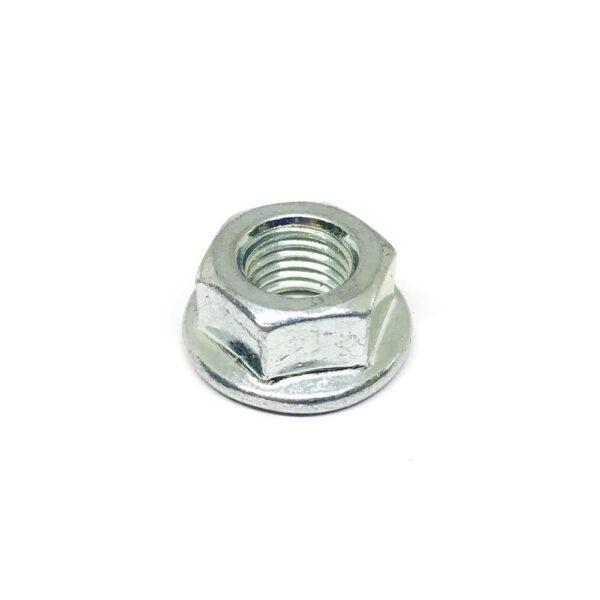 Гайка с фланцем/буртиком М8 с мелким шагом резьбы 1 мм