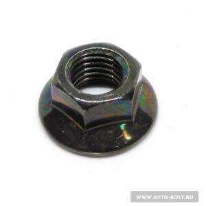 58 1 300x300 - Гайка с фланцем М10 x 1.25 чёрная
